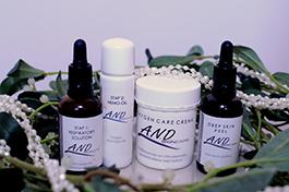 peelings van merk A natural Difference voor huidverbetering