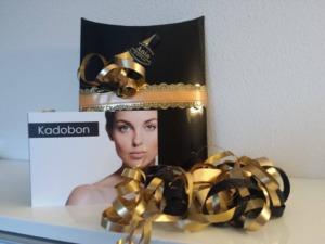 afbeelding van cadeaubon bij schoonheidssalon